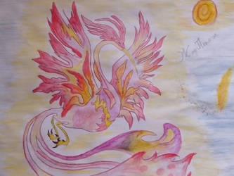 fire bird by Volia-HuntedDrakaina
