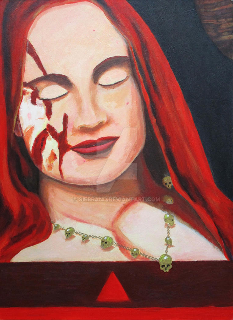 [daimonicon] 2: Red Goddess by Siebrand