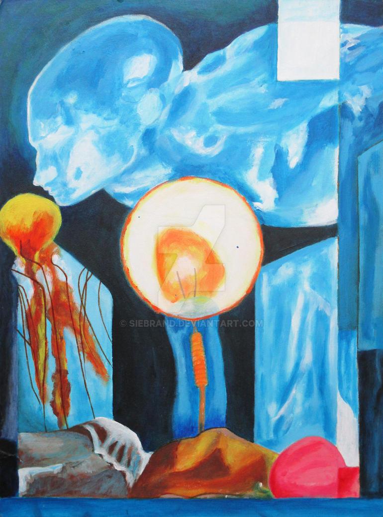 [daimonicon]4: Blue God by Siebrand