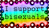 [OLD STAMP] I support Bisexuals by KiraiMirai