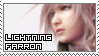 Final Fantasy XIII ~ Lightning Farron ~ Stamp 1 by KiraiMirai
