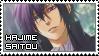 Hakuouki ~ Hajime Saitou ~ Stamp 4 by KiraiMirai