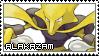 Pokemon First Generation ~ Alakazam ~ Stamp by KiraiMirai