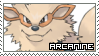 Pokemon First Generation ~ Arcanine ~ Stamp 1 by KiraiMirai
