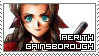 Final Fantasy VII ~ Aerith Gainsborough ~ Stamp 1 by KiraiMirai