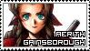 Final Fantasy VII ~ Aerith Gainsborough ~ Stamp 1 by KiraiMirai