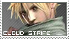 Final Fantasy VII ~ Cloud Strife ~ Stamp 1 by KiraiMirai
