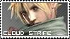 Final Fantasy VII ~ Cloud Strife ~ Stamp 1 by KiraiMirai
