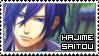 Hakuouki ~ Hajime Saitou ~ Stamp 5 by KiraiMirai