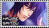 Hakuouki ~ Hajime Saitou ~ Stamp 7 by KiraiMirai