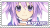 Hyperdimension Neptunia ~ Neptune ~ Stamp 1 by KiraiMirai