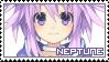 Hyperdimension Neptunia ~ Neptune ~ Stamp 1 by KiraiMirai