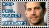 R.I.P Paul Walker (1973 - 2013)