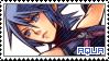 KH Birth by Sleep ~ Aqua ~ Stamp 1 by KiraiMirai