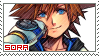 KH 1.5 ReMIX ~ Sora ~ Stamp 1 by KiraiMirai