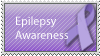 Epilepsy Awareness by MoonChildStamps
