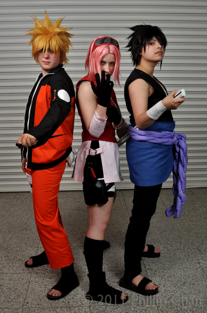 Expo Photoshoot: Team 7 by jusnoneko
