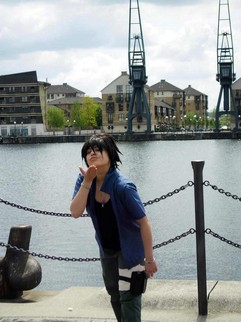 Sat Naruto Photoshoot: RTN Sasuke by jusnoneko