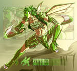 Nomadic Scyther [Auction: CLOSED]
