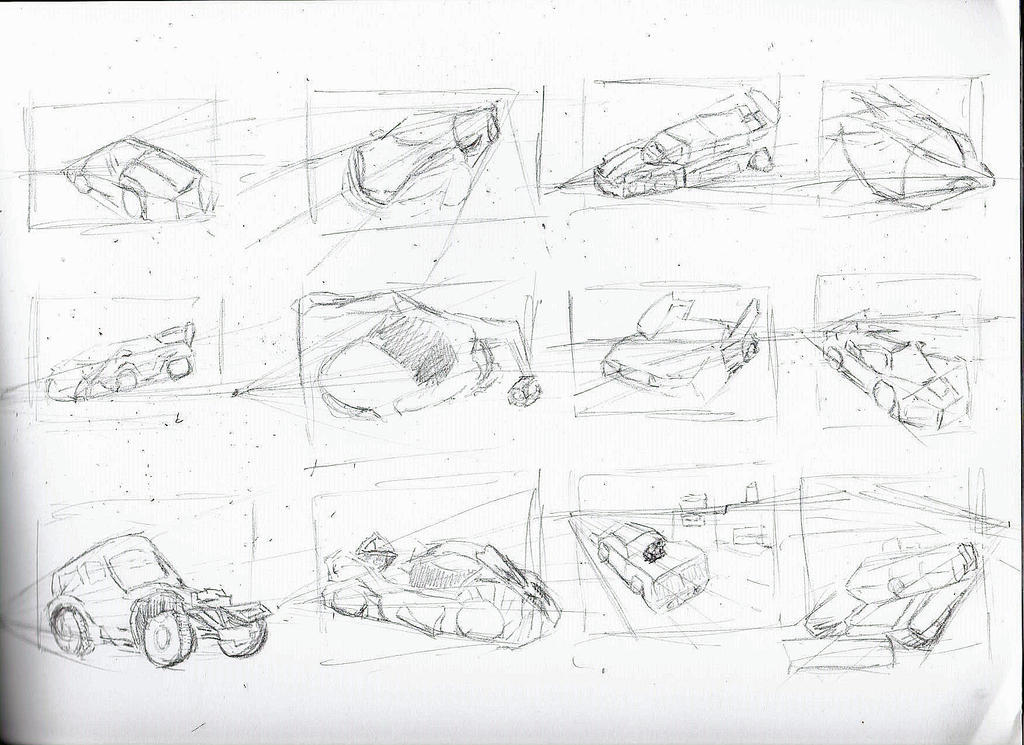 prespective drawing studies by reaper222ofdarkness