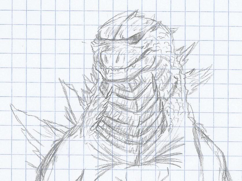 That big reptilian thing again by Mechagodzirra