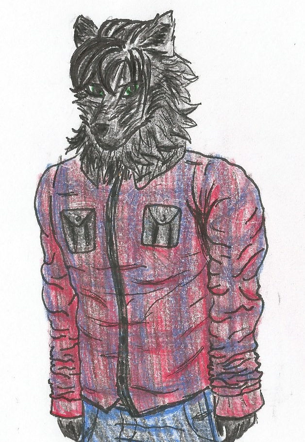 Generic wolfboi by Mechagodzirra