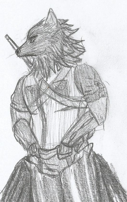 Wolfboi-ified Persona by Mechagodzirra
