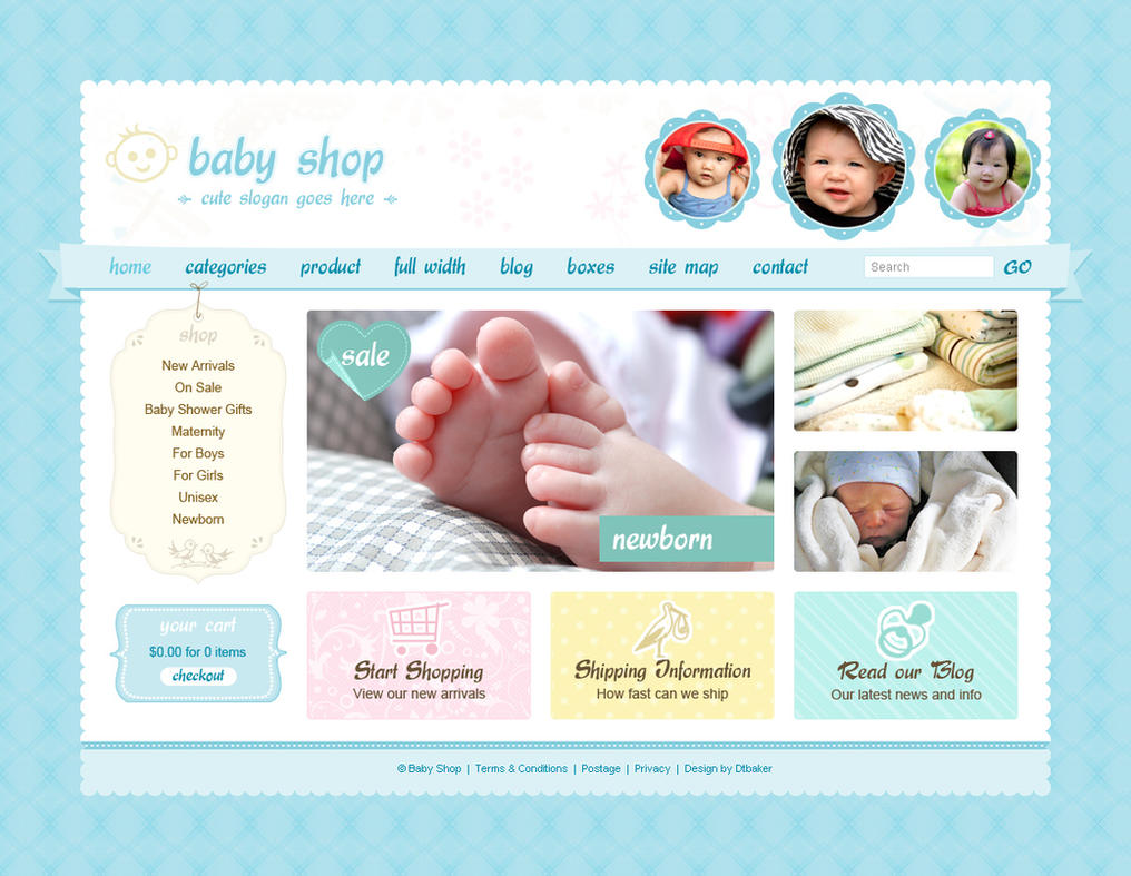 Cute and sweet website design by hayleyc on deviantart for Good drawing websites