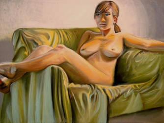 Nude lifedrawing by ryan-gfx