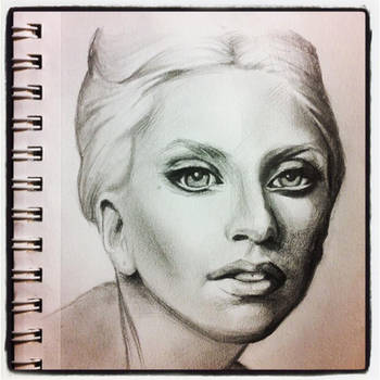 Lady Gaga by ryan-gfx