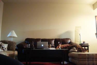 My living room wall needs an upgrade by ryan-gfx