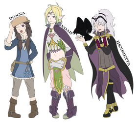 GENDERBENT FE:A AWWYE SON by SuperBashSisters