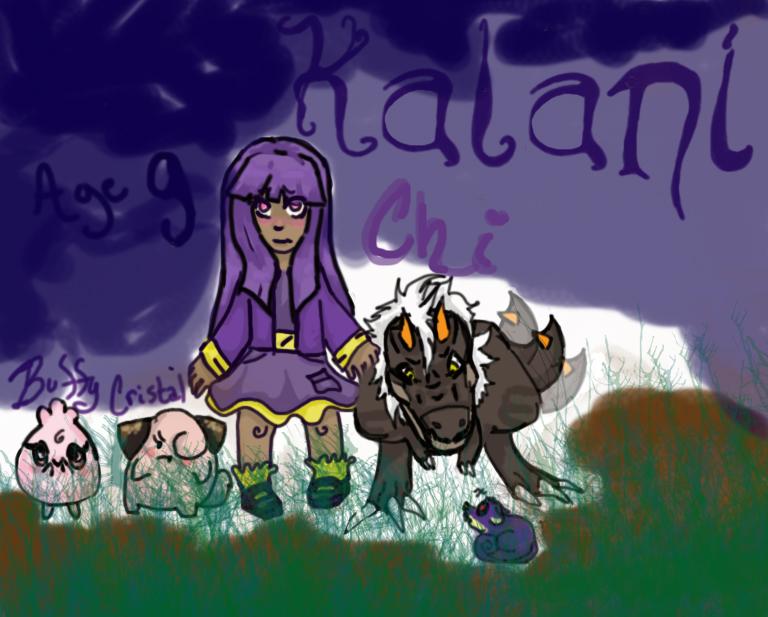 PKMN Trainer Kalani by Painted-Panda