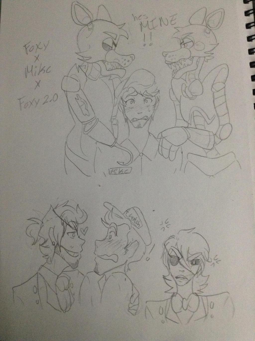 Foxys x mike by ll mrrandom ll on deviantart