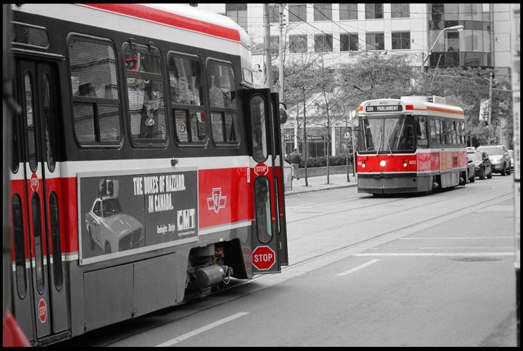 Toronto Transit Red by BlueberryRock