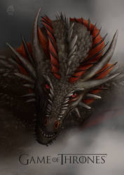 Drogon by MaryGraz