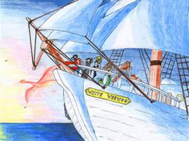 NTWF Pirates: Into the Sunrise by SaiyanHuntress