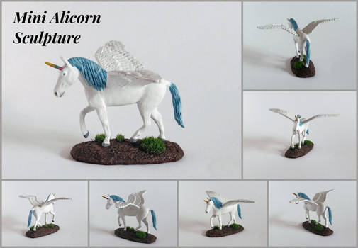 Mini Alicorn Sculpture