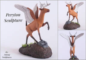 Peryton Sculpture