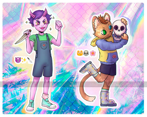 [Open 1/2] Adoptables #3 and #4