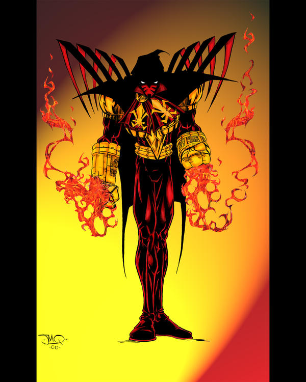 azrael colored by jmqrz