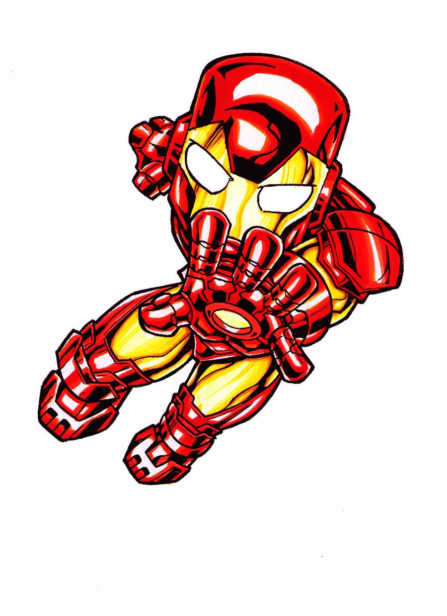 Cartoon Baby Iron Man Baby Iron Man Cartoon