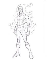 Vapor Man sketch by jmqrz