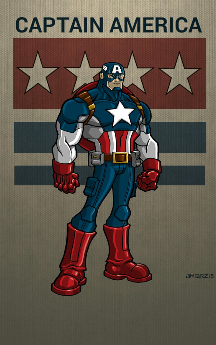 Cap toon style by jmqrz