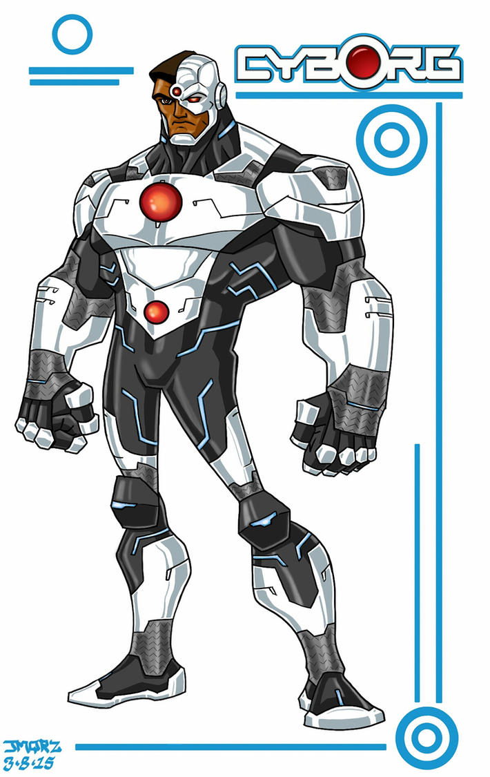 Cyborg toon style by jmqrz