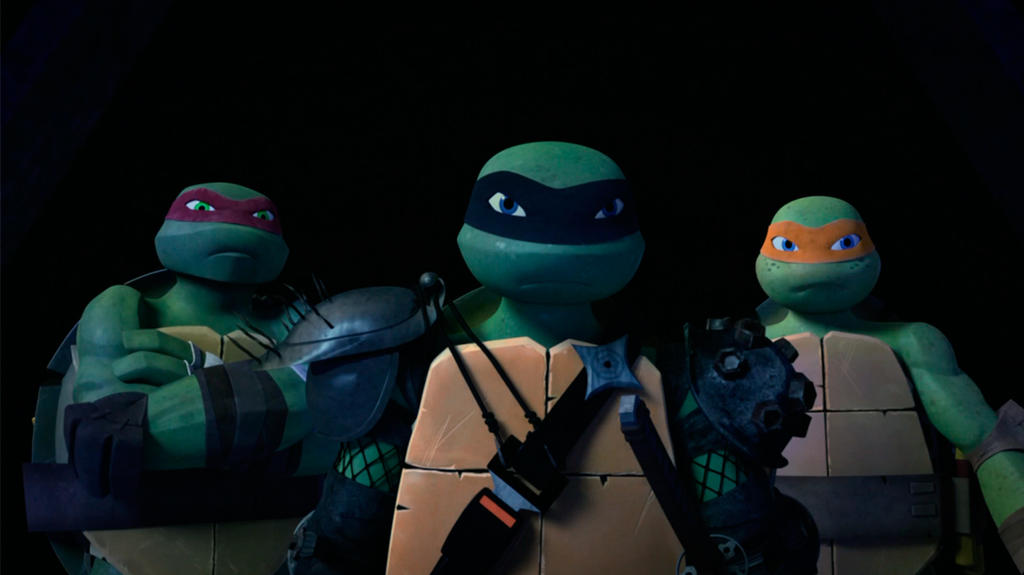 Raph Leo And Mikey Tmnt 2012 64 By Rosewitchcat On Deviantart