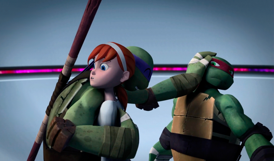 Donnie April And Raph Tmnt 2012 24 By Rosewitchcat On Deviantart