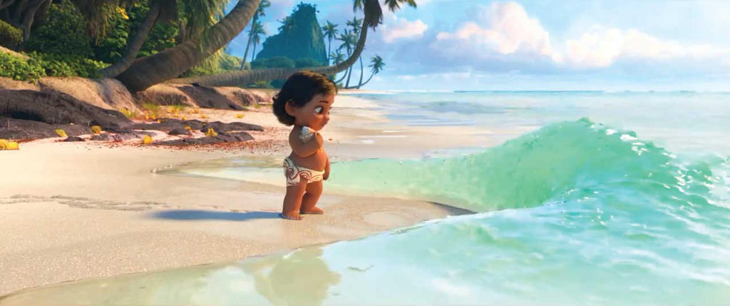 Baby Moana At The Shors By Rosewitchcat On Deviantart