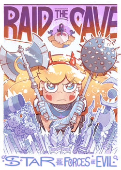 Raid the Cave poster