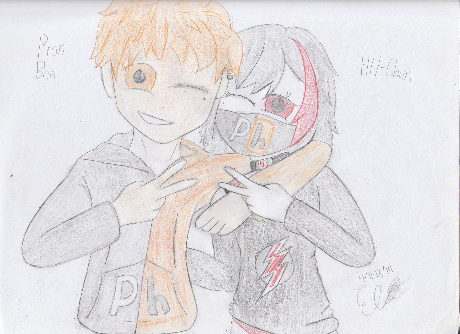 Pron Bhu And Hh Chan By Angrydrawer1118 On Deviantart